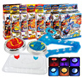 Spinning Top Beyblade Battles With Launcher Grip Game Fight Dranzer Children Fun Toy