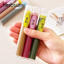 New One Box Sticks incense Aromatherapy fragrance spices Fresh Air Natural Aroma indoor spices Sandalwood(China)