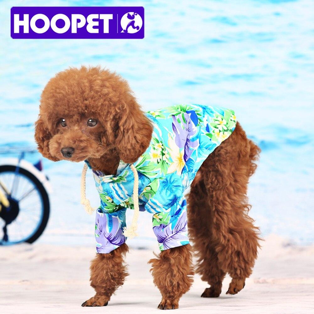 Hoopet Pet Dog Clothes Summer Beach Wear Sweatshirt Hawaii Small Puppy Hoos Shirt In From Home Garden On Aliexpress Alibaba Group