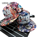 Marca jordan cap kpop snapback caps mulheres padrão de algodão hip hop gorras mulheres hiphop tampão ajustável f ** kin foda problemas de chapéu
