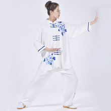 Man/Women Takewondo Karate Tai chi Clothing Wudang Kung Fu Martial Arts  Wing Chun Taiji Taichi Uniform Clothes A