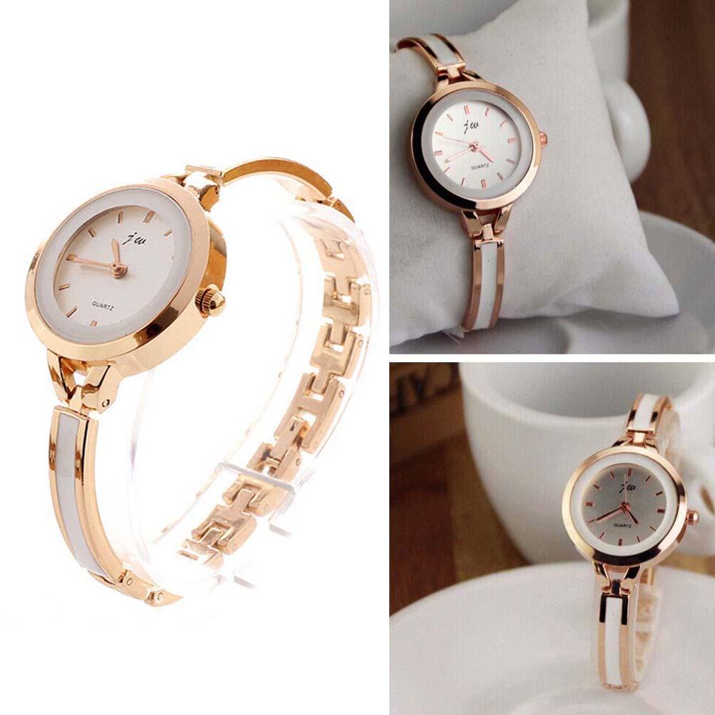 Ladies Bracelet Watch Analog Quartz Thin Stainless Steel Bangle Round Dial Dress Gold Fashion Wrist Watches Women Elegant los rodriguez los rodriguez sin documentos