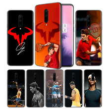 Rafael Nadal Soft Black Silicone Case Cover for OnePlus 6 6T 7 Pro 5G Ultra-thin TPU Phone Back Protective