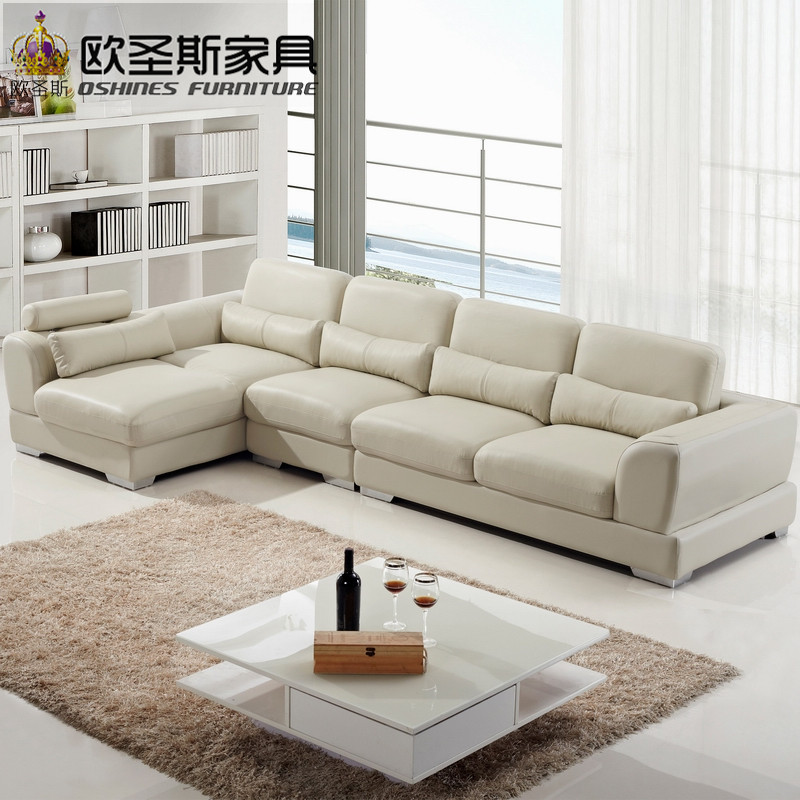 imported leather sofa,living room furniture, modern sectional sofa,genuine leather sofa OCS-118 modern living room sofa 2 3 french designer genuine leather sofa 2 3 sectional sofal set love seat sofa 8068