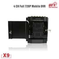 720 p hohe definication Auto Taxi Fahrzeug HDD GPS mdvr auto dvr mit separate kamera, X9-4G