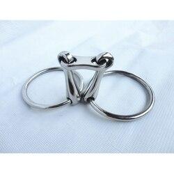 Edelstahl Ring Trense Bit Pferd Produkt 5 Mundstück (H0986)