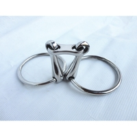 Stainless Steel Ring Snaffle Bit Horse Product 5 Mouth H0975