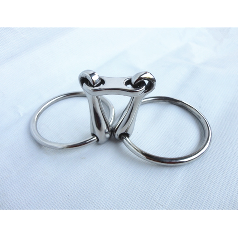 Stainless Steel Ring Snaffle Bit Horse Product 5\