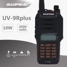 2019 BAOFENG UV-9R плюс влагонепроницаемые Walkie Talkie 10 Вт Морской CB радио станции КВ трансивер Портативный двухстороннее высокое мощность