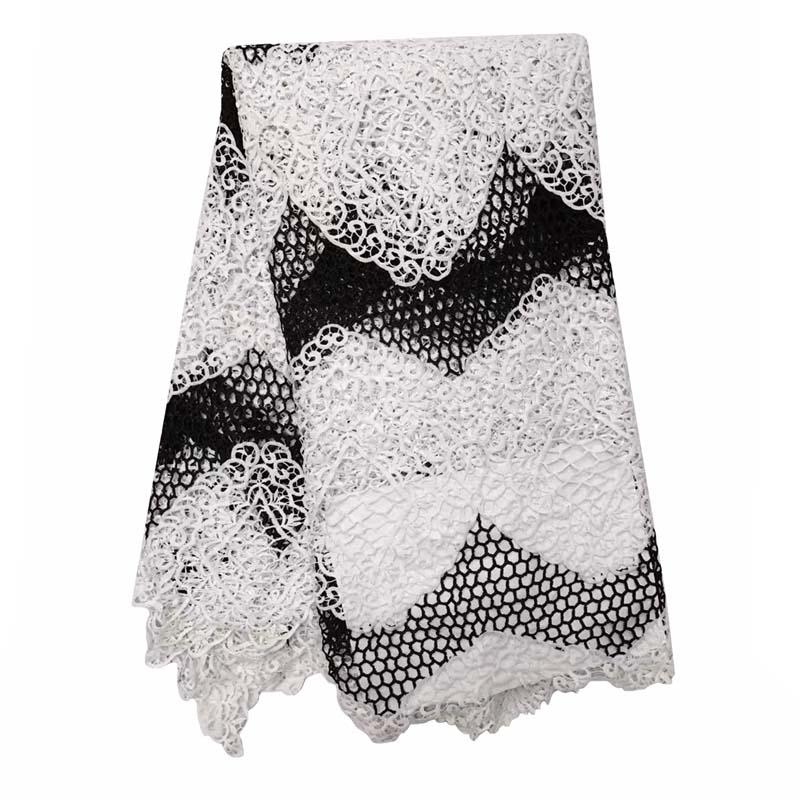 இTela africana del cordón del diseño de moda de alta calidad cordón ...