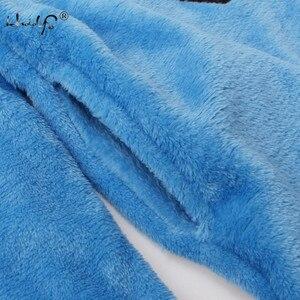 Image 3 - Herbst Und Winter Frauen Pyjamas Sets Dicke Warme Korallen Samt Anzug Flanell Langarm Weibliche 2PCS Kätzchen Druck Hosen nachtwäsche