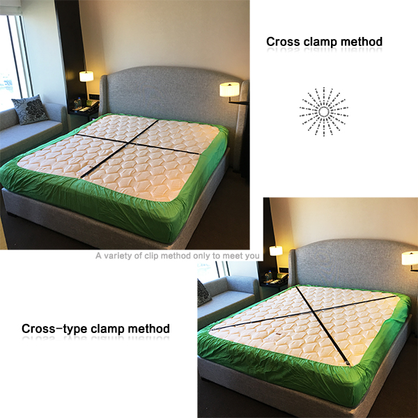 how to make bed sheets tight