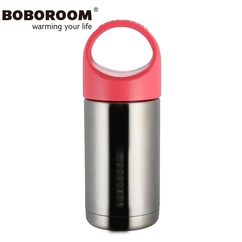 BOBOROOM Brand Thermos Mug Travel Cup 2017 New Design Stainless Steel Thermos Mug 500ml Garrafa Termica