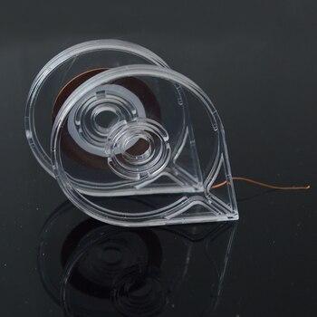 1 x cinta de rayas de manicura transparente carcasa con adhesivo Portable fácil de usar diseño belleza manicura herramientas de uñas LA446