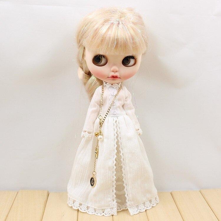 Neo Blythe Doll Vintage Long Dress 4