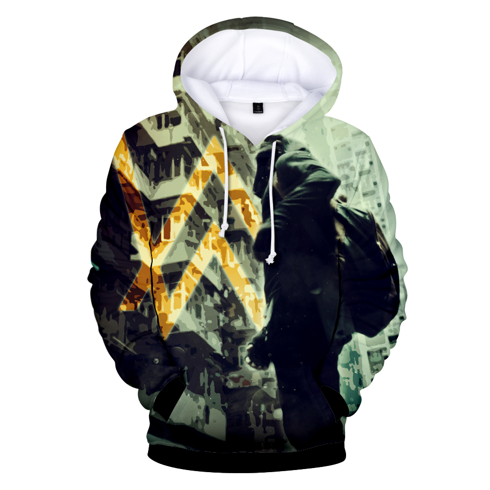 Cremallera suéter con capucha de moda DJ de Música Divina Alan Walker Se  Desvaneció Sudaderas Con 8860a7712ae