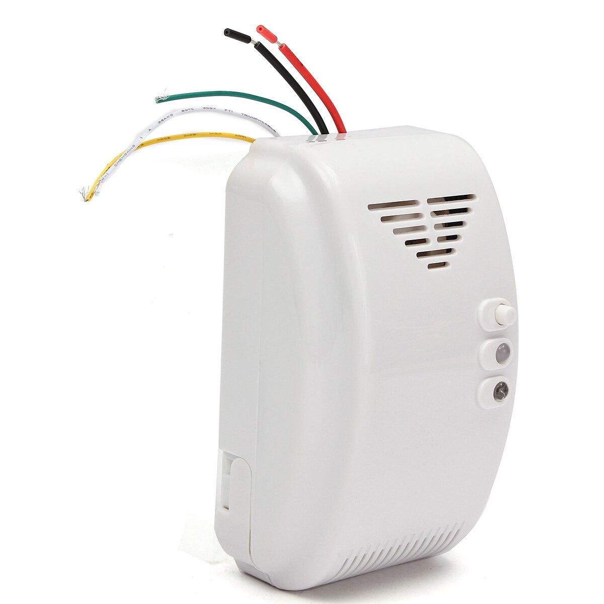 Nouveau 12 V détecteur de gaz capteur alarme Propane Butane LPG camping-car naturel pour la sécurité du système d'alarme à domicile
