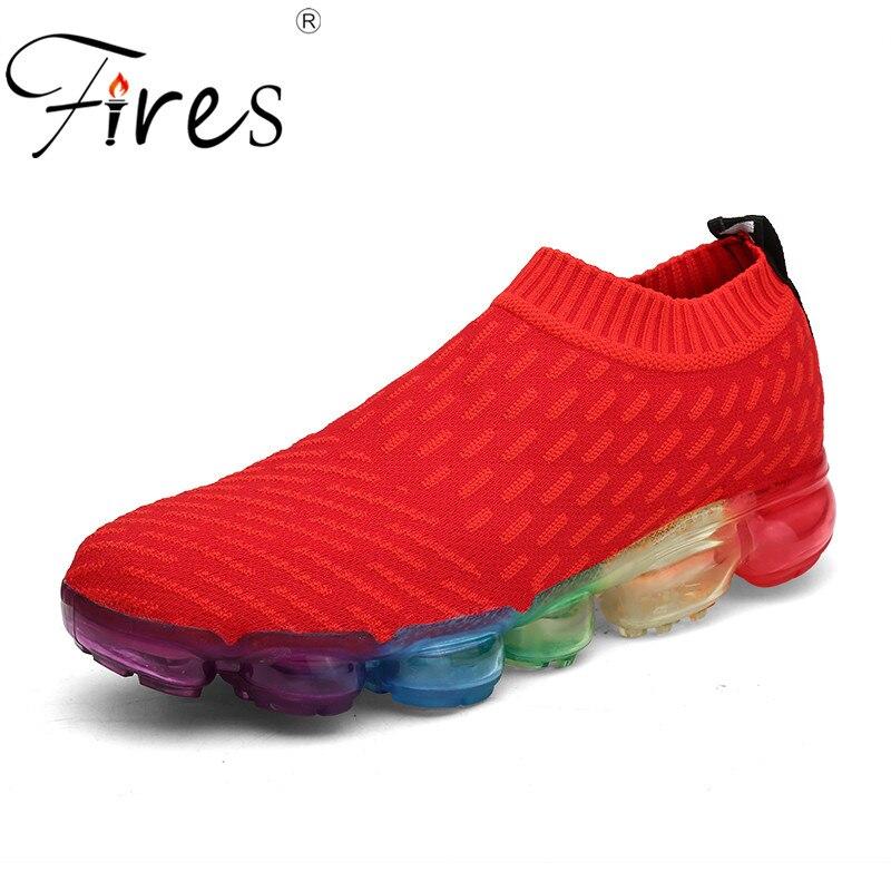 Fires Men Running Shoes Spring Cool Sport Shoes Summer Low Top Jogging Sneakers men Sneaker Hombre Comfortable Walking Shoes