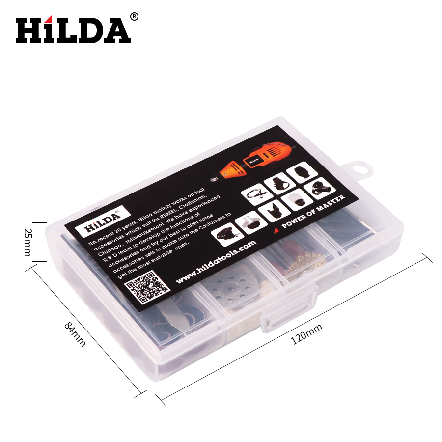 HILDA 92Pcs Madera Metal Grabado Accesorio de herramienta rotativa - Accesorios para herramientas eléctricas - foto 2