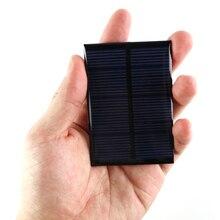 W de Energia do Painel MM para Telefones Portable Mini 6 V 0.6 Solar Poli Módulo DIY Pequeno Carregador DA Célula 80*55 Brinquedo Lithg Emergência Carregamento