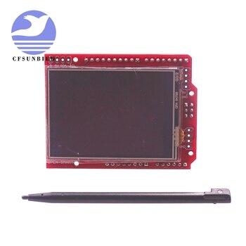2.4 inch TFT LCD Display module Touch Screen Shield ILI9325 IC onboard temperature sensor + Pen for Arduino UNO R3/ Mega 2560 R3