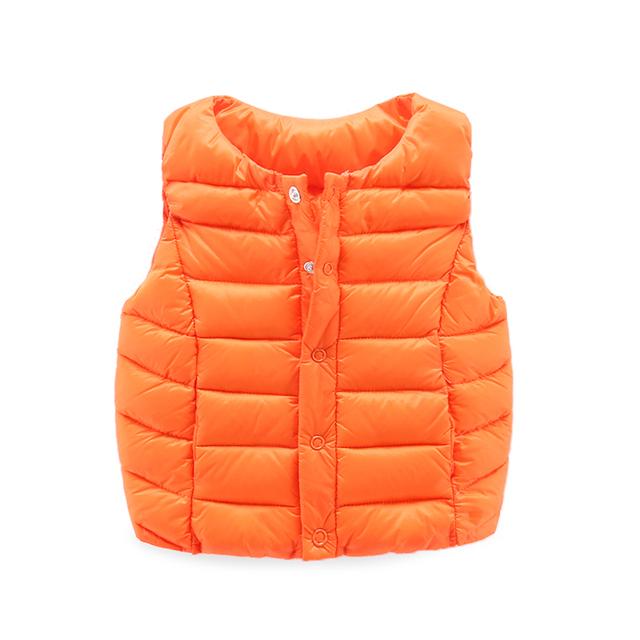 La ropa de bebé de invierno recién nacido $ number-abajo chaleco chaleco chaleco