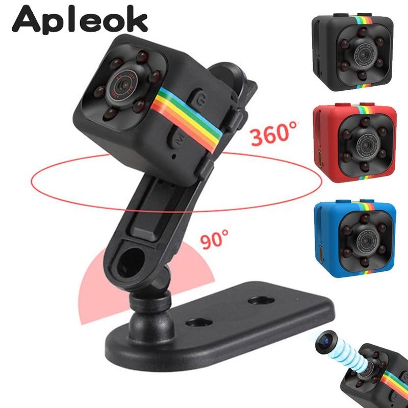 2017 New Original Mini Camera SQ11 HD Camcorder SQ8 SQ9 Night Vision Mini Camera 1080P Sports Mini DV Voice Video Recorder