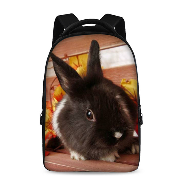 Pet rabbit pig Backpacks For Teens Computer Bag Fashion School Bags For Primary  Schoolbags Fashion Backpack bda7cb810fe3f