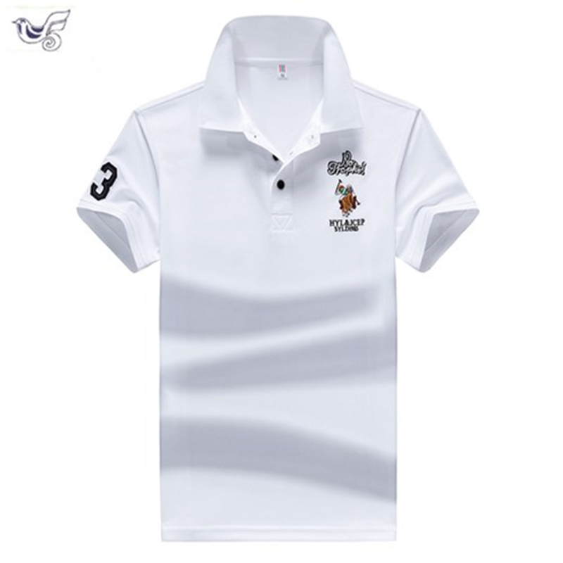 Plus Size M-4XL Brand New Men's   Polo   Shirt High Quality Men Cotton Short Sleeve shirt Brands jerseys Summer Mens   polo   Shirts