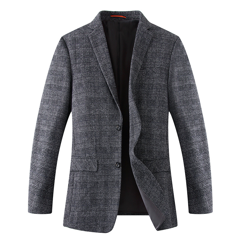 Men Plus Size 6XL 8XL 7XL Men Blazers Wool Jacket New Arrival Brand Clothing Autumu Suit Jacket Men Blazer Jacket Male Suits