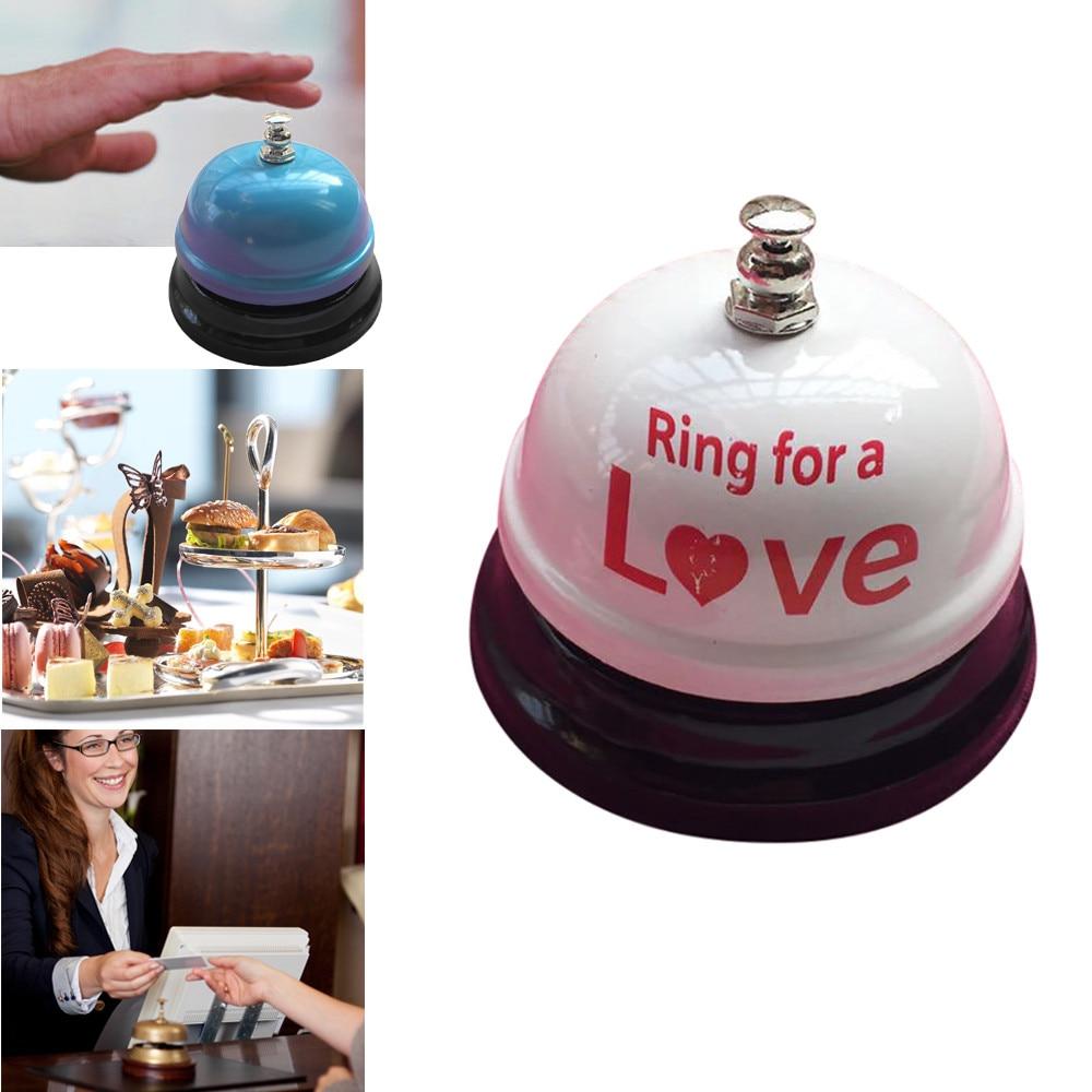 Hotel Counter Desk Bell Ring Metal Reception Restaurant Kitchen Bar Service Call Kitchen Tool Dropshipping D30 Apr25