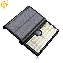 Настенный светильник на солнечной батарее уличный садовый водонепроницаемый