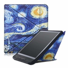 PU Leather Smart Cover Case For Kobo Forma 8.0 inch E-books Multiangle Transformers Folding Stand Cover with Auto Sleep/Wake