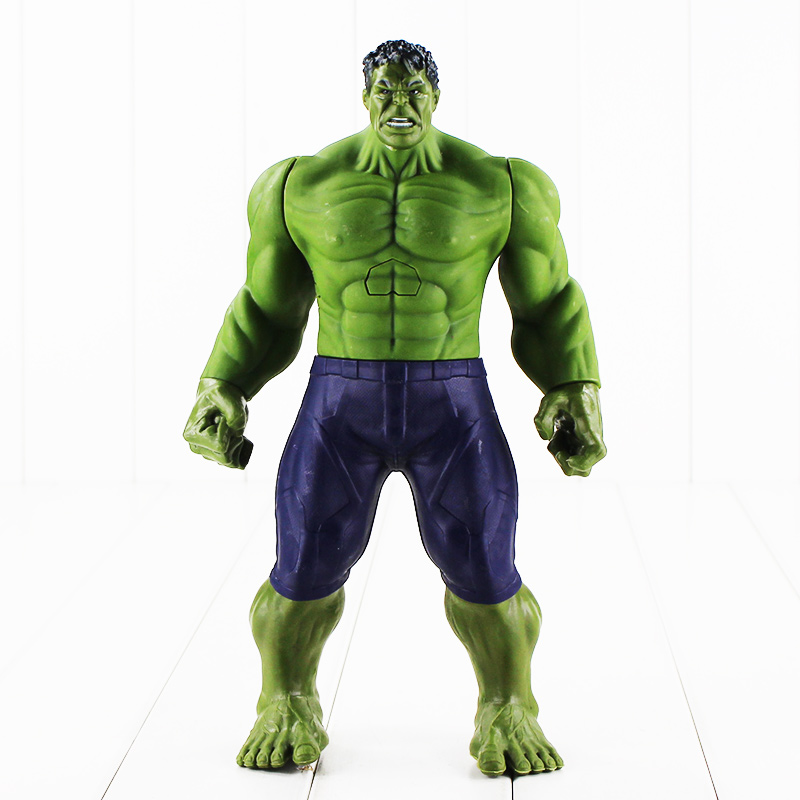 Hot 30cm Super Heros The Hulk PVC Toy Action Figure Model With Box movie super hero the hulk pvc action figure toy 25cm red hulk green hulk figures toys free shipping