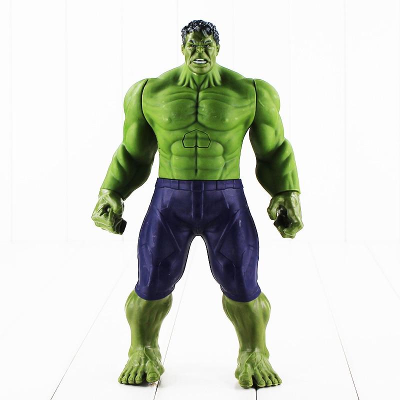 Hot 30cm Super Heros The Hulk  PVC Toy Action Figure Model With BoxHot 30cm Super Heros The Hulk  PVC Toy Action Figure Model With Box