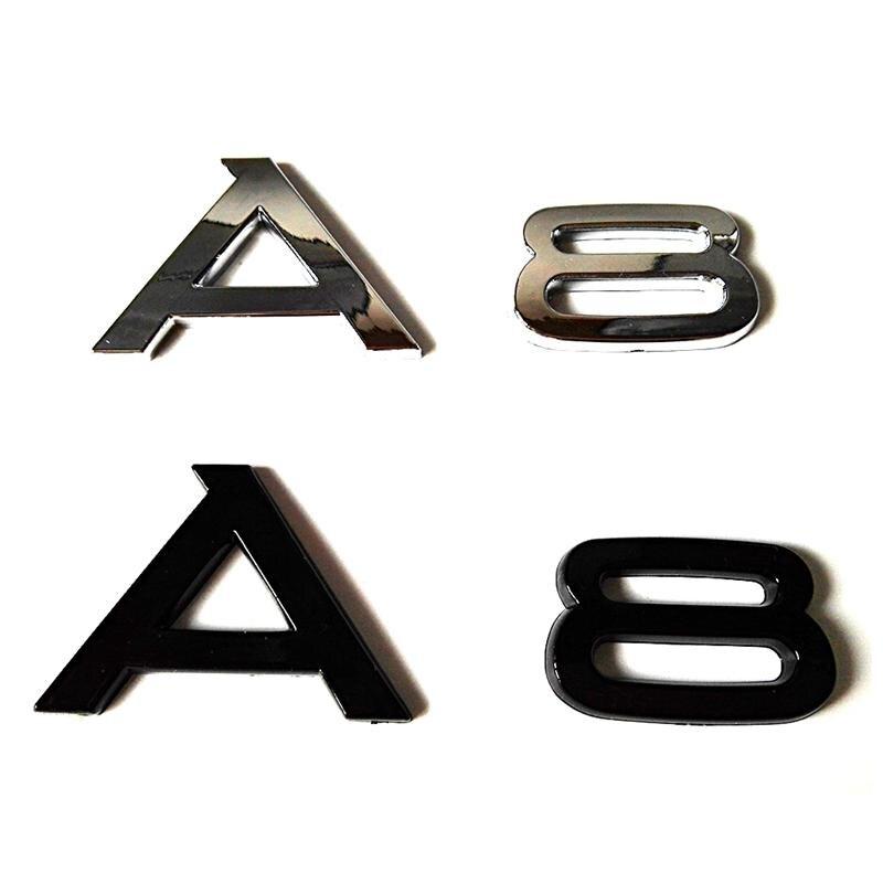 ABS Chrome чорний колір для наклейки - Зовнішні аксесуари для автомобілів
