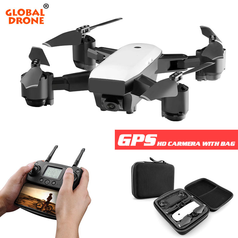 Global Drone Profissional Drone GPS Long Time Flying Dron RC Helicopter Wifi FPV Quadrocopter with Camera
