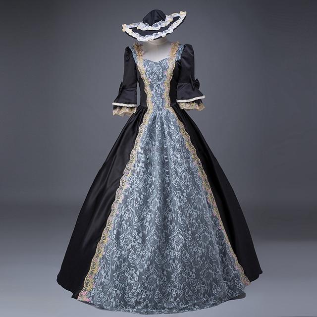 Women S Renaissance Georgian Period Masquerade Princess Bridesmaid Dresses Ball Gown Reenactment Clothing