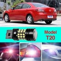 Error Free T20 Socket 360 Degrees Projector Lens LED Backup Reverse Light R5 Chips Replacement Bulb