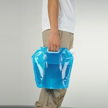 5L/10L Outdoor Foldable Folding Collapsible Drinking Water Bag Car Carrier Container for Camping Hiking Picnic BBQ