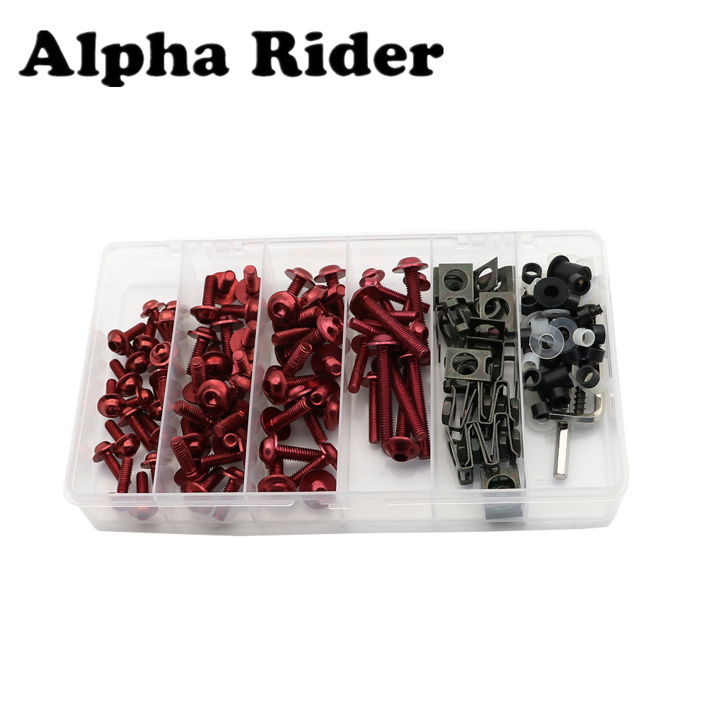 Fairing Bodywork Bolts Kit Fastener Clips Screws for Yamaha YZF R6 99-05 R1 1998-2014 FZ6 09-12 YZF1000R 96-07 XJ6 09-12 New