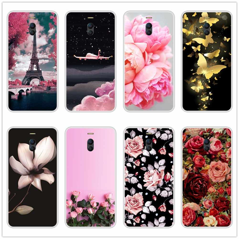 Silicone Case For Meizu M6 M5 M3 M2 Note Soft TPU Fashion Back Cover For Meizu M5 M5C M6 M6S M6T  M5S M3 M3S M2 Phone Case