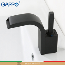 цены GAPPO basin faucets 3 colors basin mixer faucet for bathroom sink faucets waterfall bathroom faucet mixer tap torneira tapware