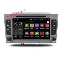 Заводская цена android 7.1 автомобильный DVD Радио Аудио DVD плеер для Peugeot 308 408 с GPS навигации Мультимедиа 4 г WiFi BT