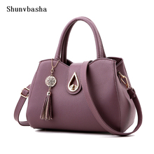 2016 New Brand High quality Women Handbags With a Tear Lock Summer New Design Female PU Leather Tote Fashion Women Shoulder Bags