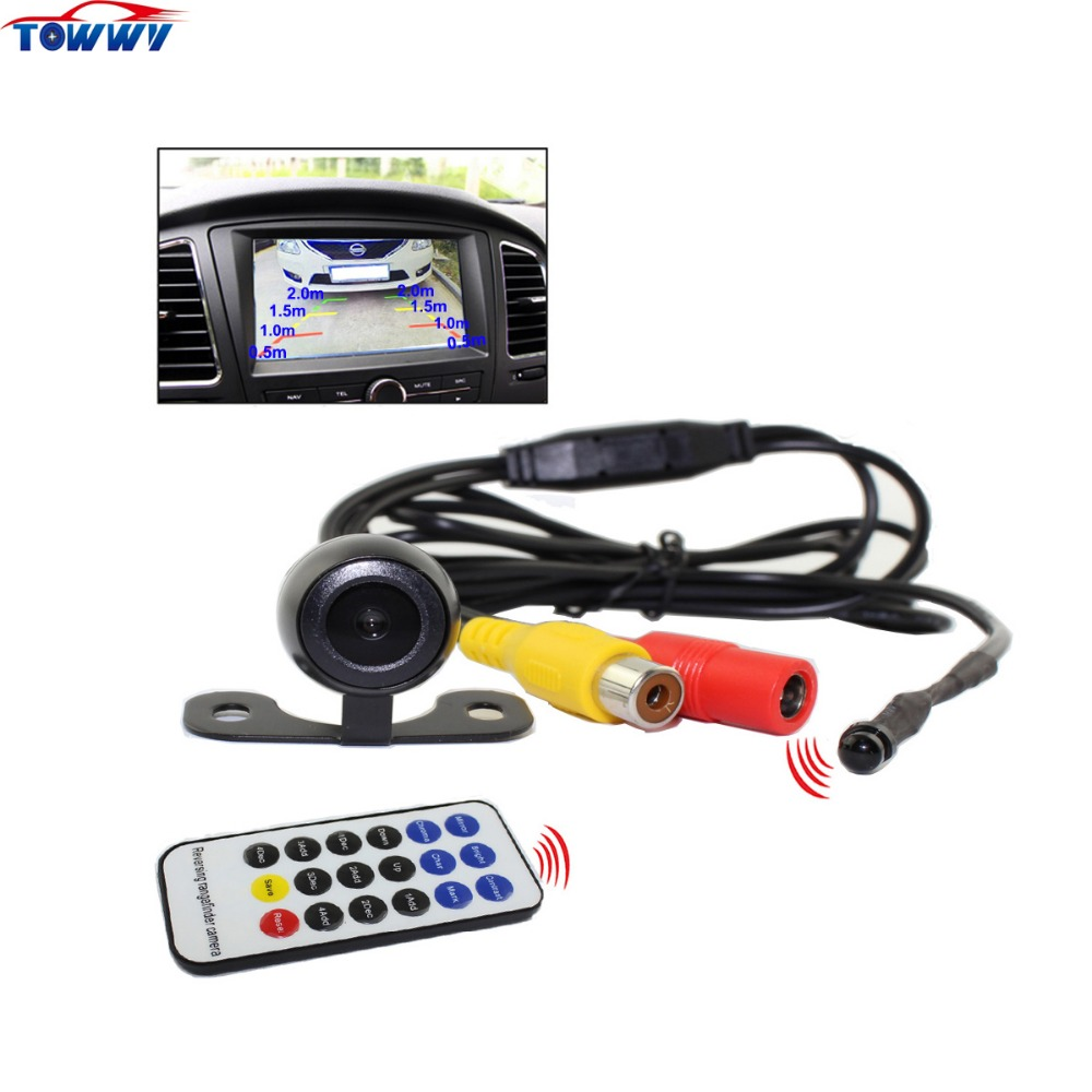 170 Degree Wide Angle HD Car Rearview Rangefinder Camera Can be Used for a Parking Sensor