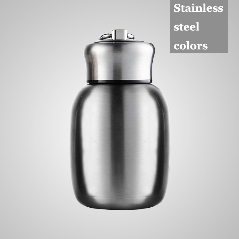HOT SALE 200ML Mini Cute Coffee Vacuum Flasks Thermos Stainless Steel Travel Drink Water Bottle  Thermoses Cups and Mugs6