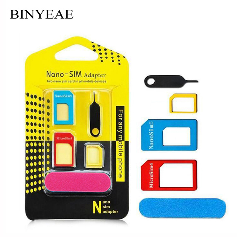 Nano Mirco Standard Sim Card Adapter Kit Converter abrasive Bar Tray Needle For Huawei Mate 10 Pro/10 Lite/ Nova 2i/ Honor 9i