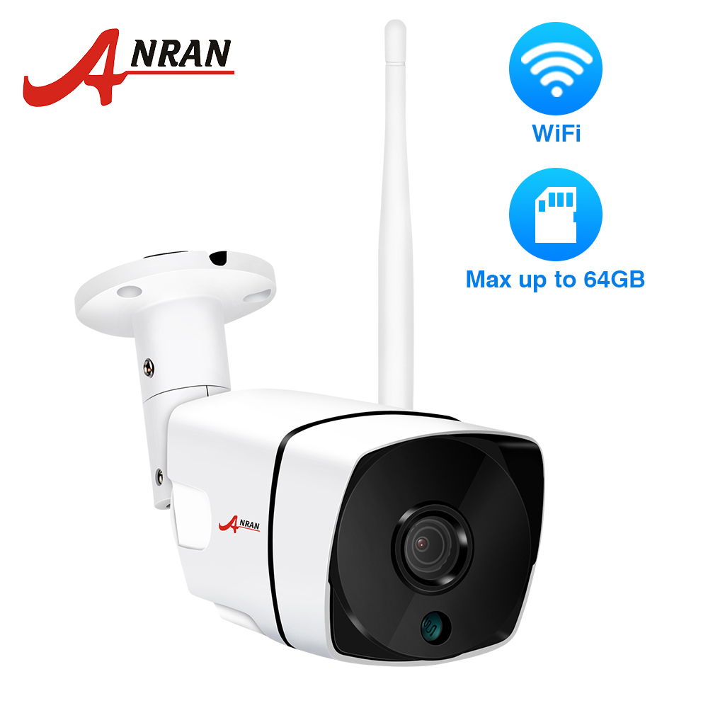 ANRAN 1080P IP Camera Outdoor Waterproof H.264 HD Night Vision Video Surveillance Camera Built-in SD Card Slot Wifi CameraANRAN 1080P IP Camera Outdoor Waterproof H.264 HD Night Vision Video Surveillance Camera Built-in SD Card Slot Wifi Camera
