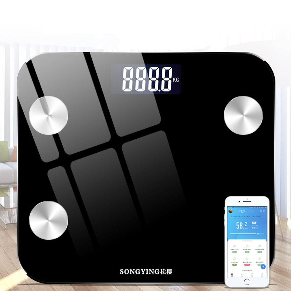 Intelligent LED Body Fat Scale Scientific Intelligent Electronic Digital Scales To Maintain A Healthy Household Weight Tool(China)